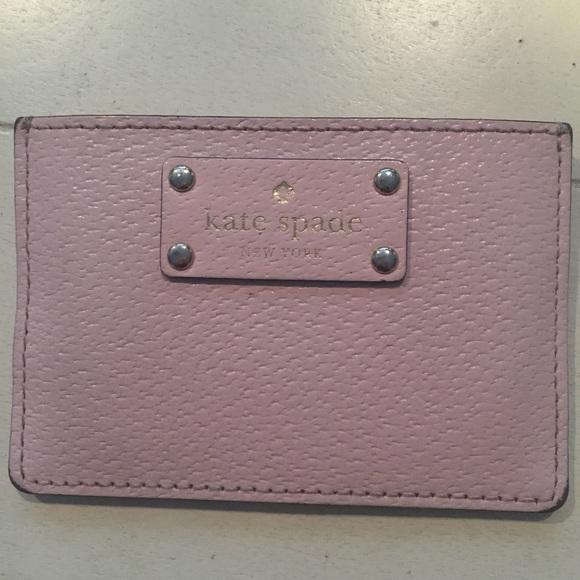 timeless design ba5da 752aa Kate Spade Pink Card Case / Card Holder
